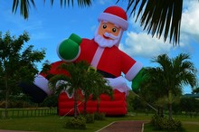 Big Inflatable Santa Claus