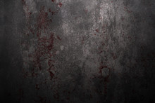 Blood On Wall, Halloween Backg...