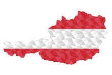 Austrian Polygonal Flag On Con...