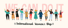 International Womens Day. Vect...