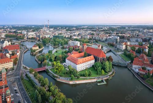 Obraz Wyspa na Odrze, Wrocław - fototapety do salonu