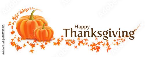 Fototapeta Happy Thanksgiving obraz