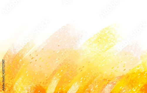 Cuadros en Lienzo  Yellow sunny pastel background warm autumn