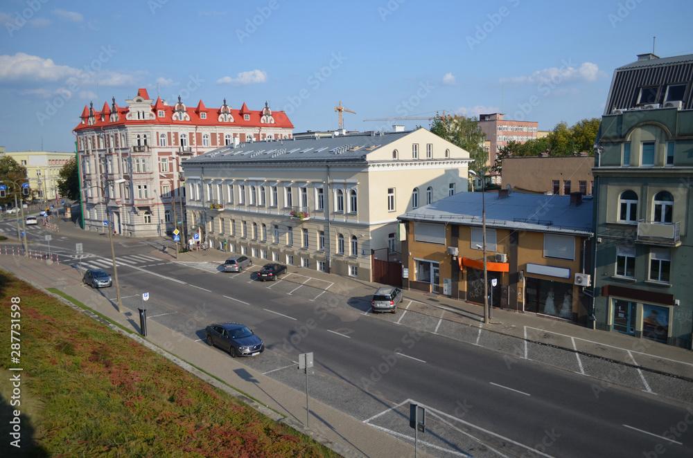 Fototapety, obrazy: Białystok - centrum miasta/Bialystok-downtown, Podlasie, Poland