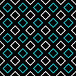 Simple seamless square pattern background design - color vector graphic