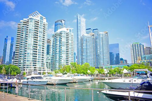 Skyscrapers of Toronto Canvas Print