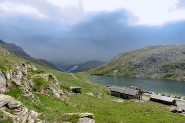 Parco del Gran Paradiso lago serrù