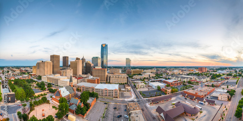 Fotomural  Oklahoma City, Oklahoma, USA at twilight