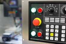 CNC Control Panel Of Milling M...