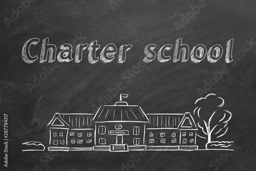 Papel de parede Charter school