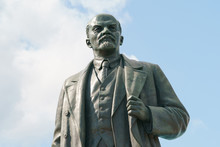 Vladimir Lenin Statue In The E...