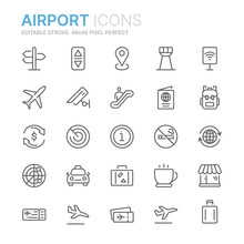 Collection Of Airport Related ...