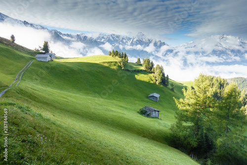 Fényképezés  Herbst und Winter in den Alpen
