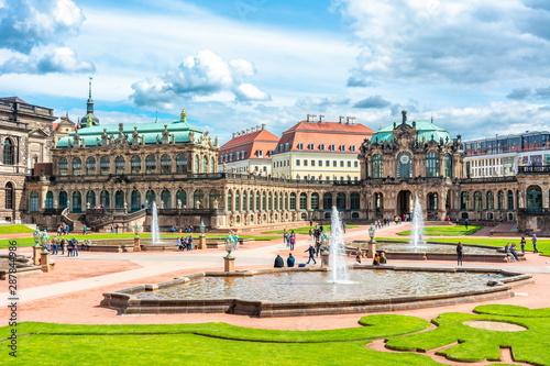 Staande foto Historisch geb. Architecture of Dresdner Zwinger, Dresden, Germany
