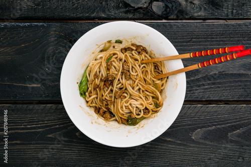 Slika na platnu Dan Dan Chinese Noodles
