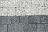 Fototapeta Kamienie - Kostka brukowa, chodnik, kamień, tekstura, zasoby graficzne.