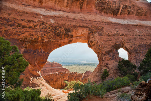 Partition Arch in Arches National Park