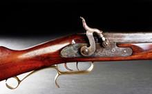 Antique Muzzle Loader Rifle.