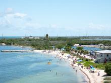 Calusa Beach, Florida Keys, Fl...