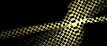 Checkered Abstract Background In Racing Style. Texture Consists Of Passages Of Shimmering Colors