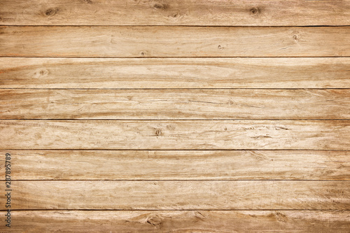 Vászonkép  brown wood wall texture with natural patterns background