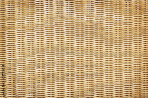Fotomural Rattan or wicker weave texture background
