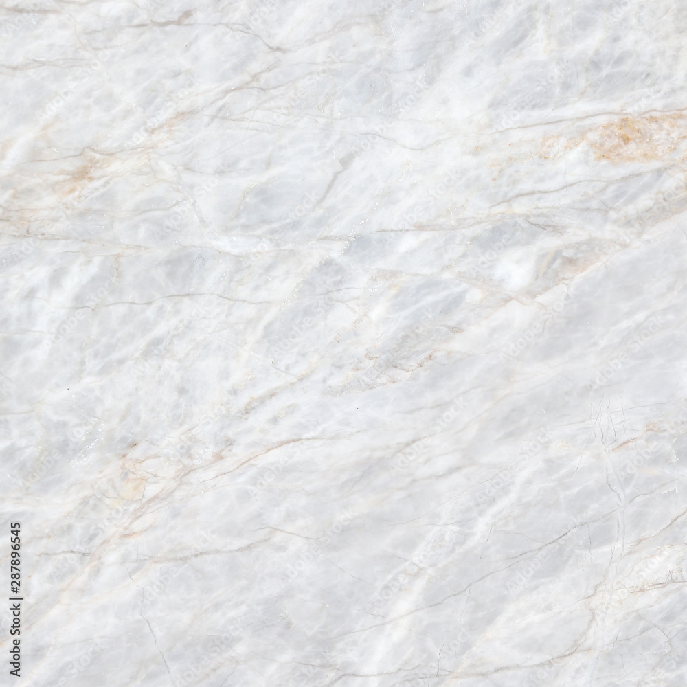 Fototapeta White marble texture abstract background pattern with high resolution