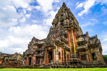 Phanom Rung Historical Park Is Castle Rock Old Architecture