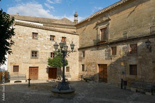 Plaza Juan de Valencia, ciudad de Ubeda, Jaén