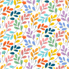 Bright Exotic Flower Pattern. Perfect For Desktop Wallpapers, Picture Frames, Pattern Fills, Surface Textures.