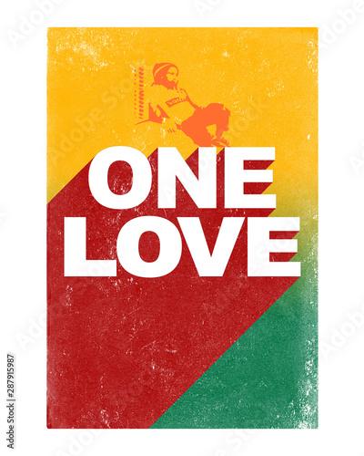 Fototapeta One Love