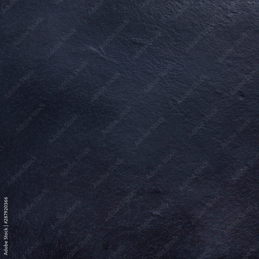Fototapety, obrazy: An abstract black slate background, a dark texture with a place for text