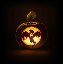 Jack-o-Lantern Dark Spooky Ghost
