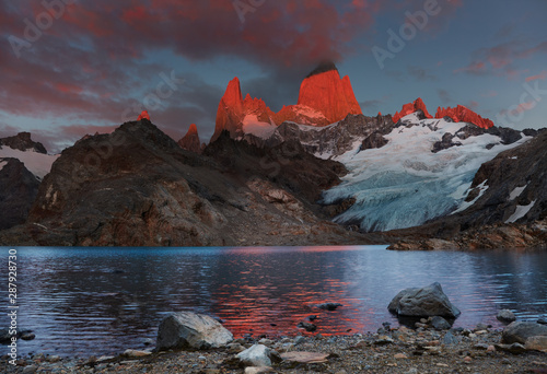 Mount Fitz Roy, Patagonia, Argentina Canvas Print