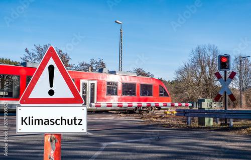 Bahnfahren: eine Möglichkeit für den Klimaschutz