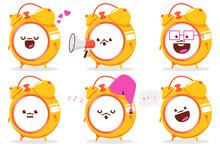 Cute Clock Cartoon Characters ...