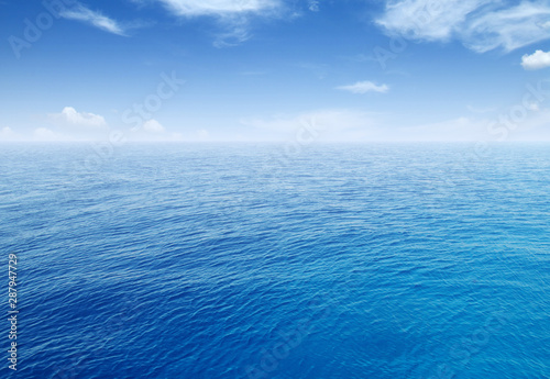 Seascape and  blue sky - 287947729