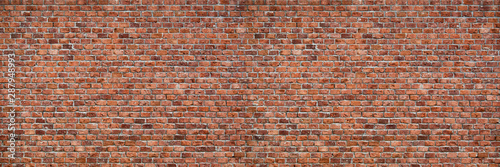 Cuadros en Lienzo  Brick wall dirty old texture background