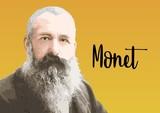 Fototapeta Fototapety Paryż - Claude Monet portrait