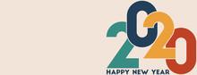 2020 Happy New Year Background...