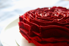 Mousse Cake In The Shape Of A ...