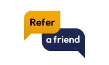 Reffer A Friend Banner Vector ...