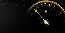 2020 Happy New Year Banner On ...