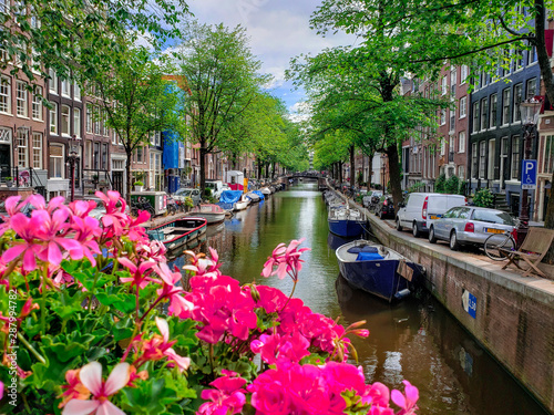 A nice canal in Amsterdam.