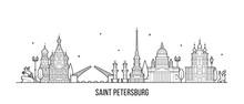 Saint Petersburg Skyline Russi...