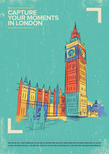 Big Ben Tower Vector Illustrat...