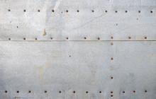 Texture Of Old Galvanized Iron...