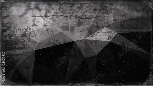 Fototapety, obrazy: Black and Grey Textured Background Image