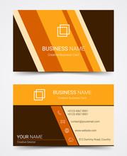 Modern Business Card Design Te...