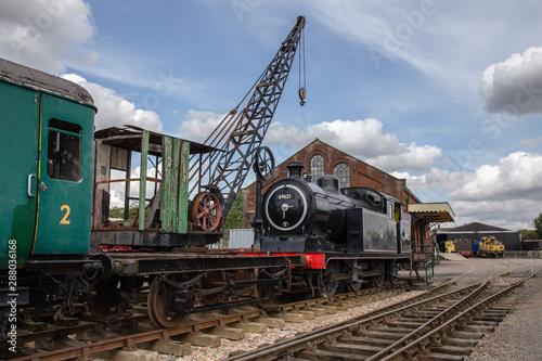 Fototapeta East Anglian Railway Museum Chappel Essex